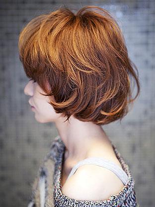 秋・大人かわいいマッシュヘアー